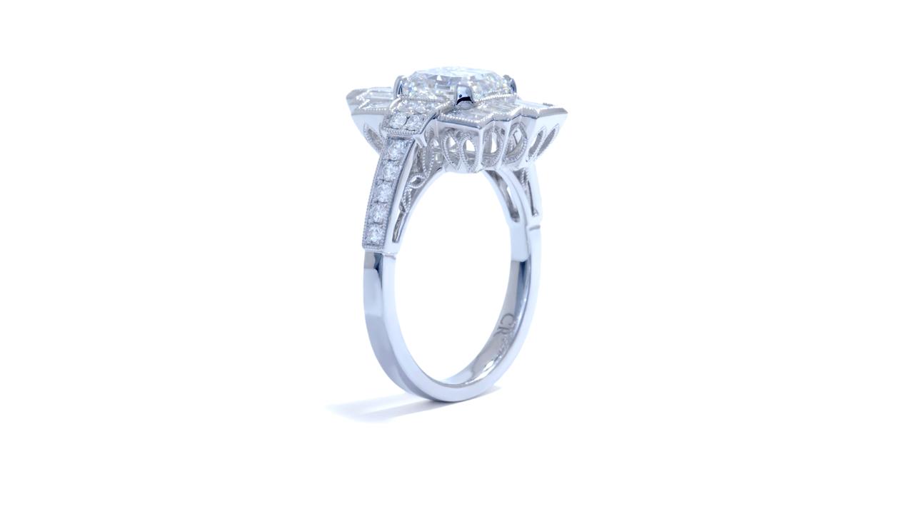 jb4482_d6619 - 2ct Asscher Diamond Art-Deco Ring at Ascot Diamonds