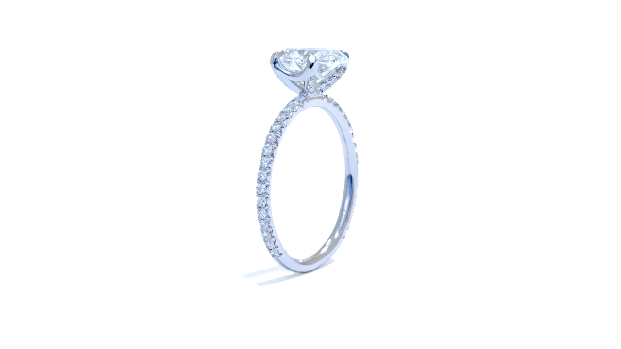 jb4633_lgd1393 - Lab Grown Diamond Engagement Ring at Ascot Diamonds