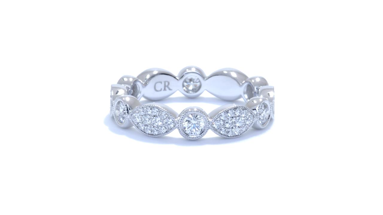 jb4696 - Stackable Diamond Wedding Ring at Ascot Diamonds