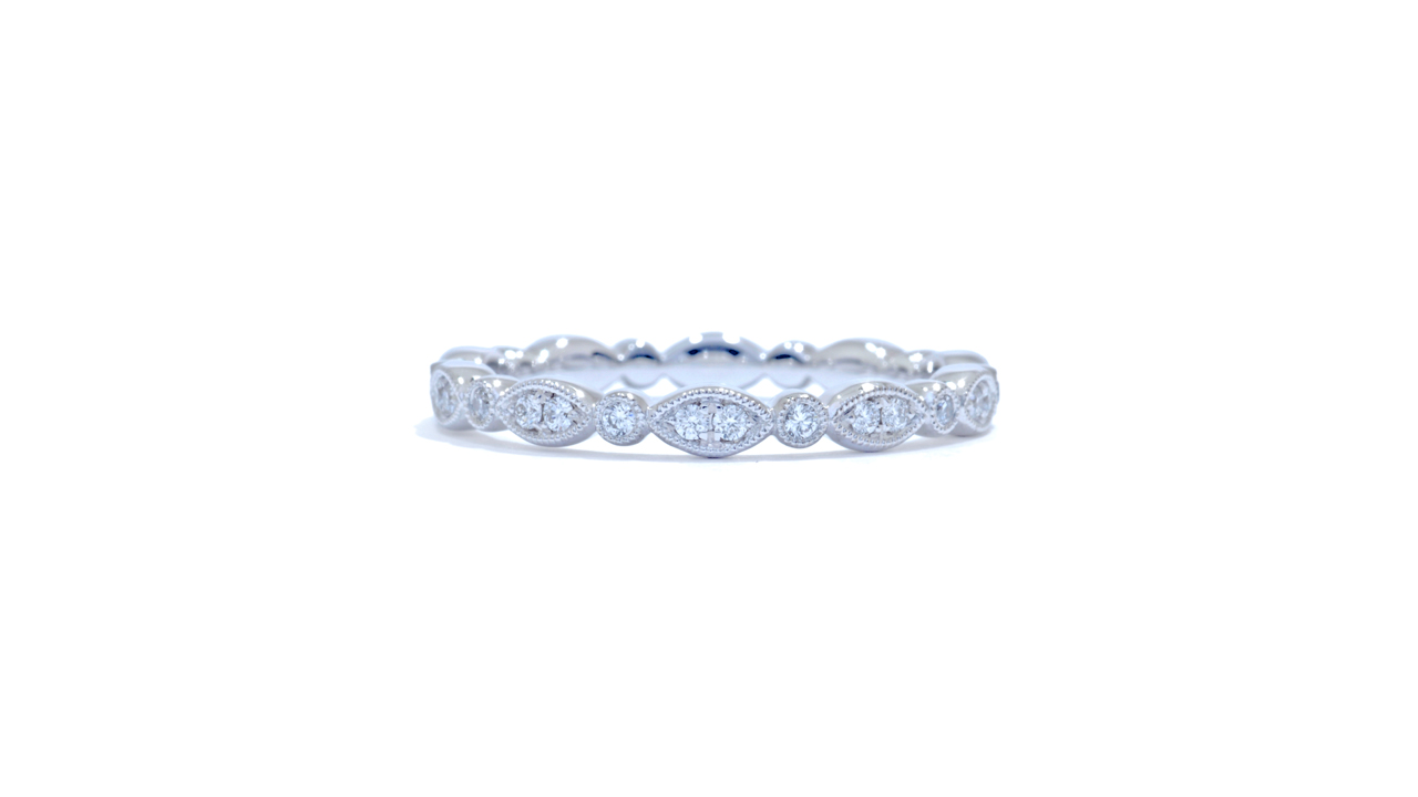 jb4708 - Diamond Stacking Wedding Band at Ascot Diamonds