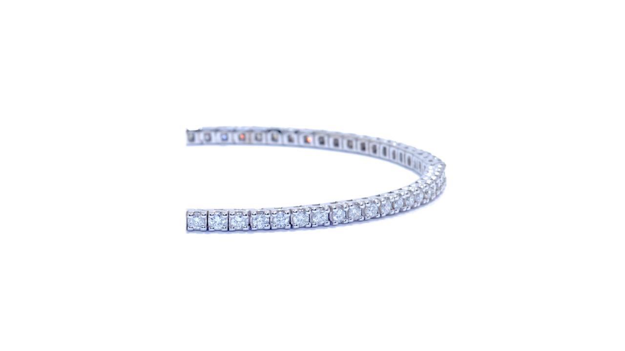 jb4844 - 3.5 ct Diamond Tennis Bracelet at Ascot Diamonds
