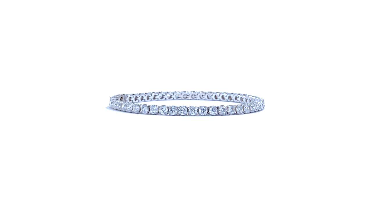 jb4845 - 7 carat Diamond Tennis Bracelet at Ascot Diamonds