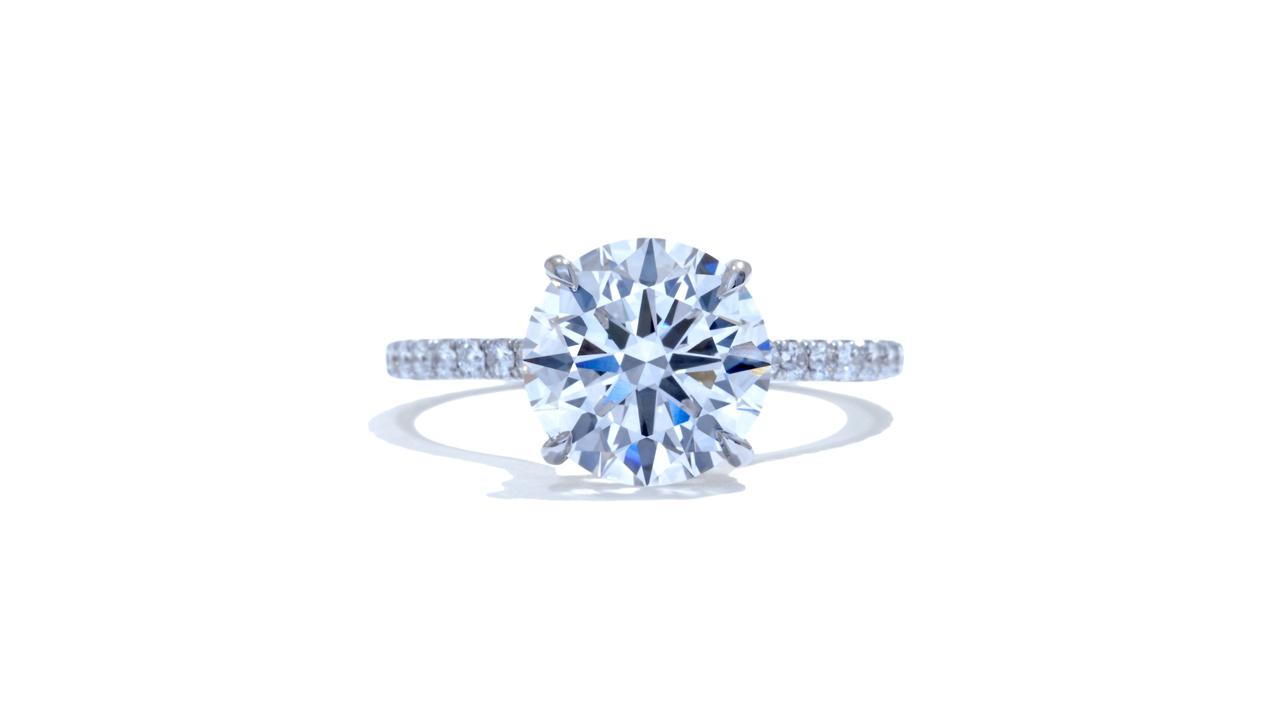 jb4872_lgd1455 - Round Diamond Solitaire Engagement Ring at Ascot Diamonds