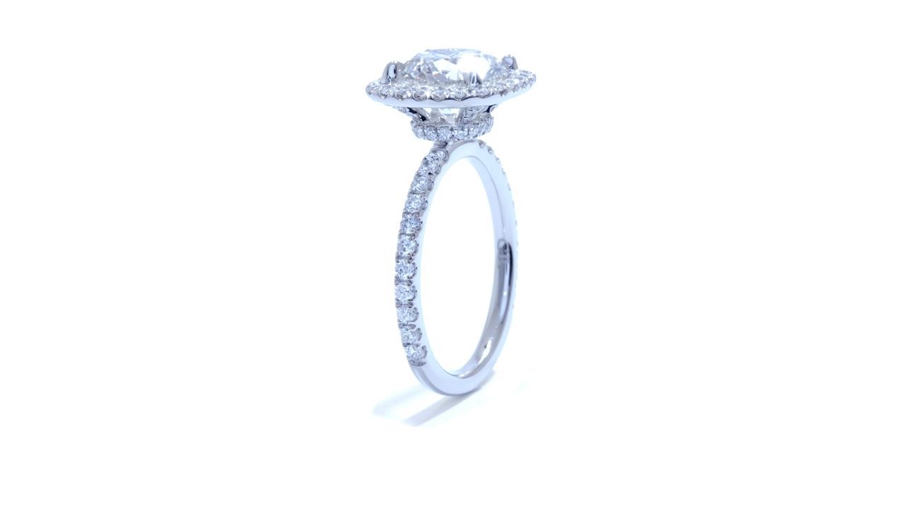 jb4874_lgd1318 - 2ct Lab Grown Diamond | Halo Ring at Ascot Diamonds
