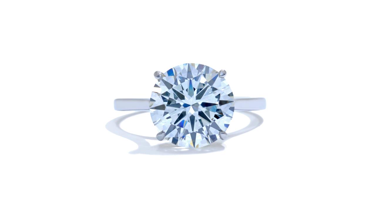 jb4900_d6811 - 4 Carat Round Cut Diamond Ring at Ascot Diamonds