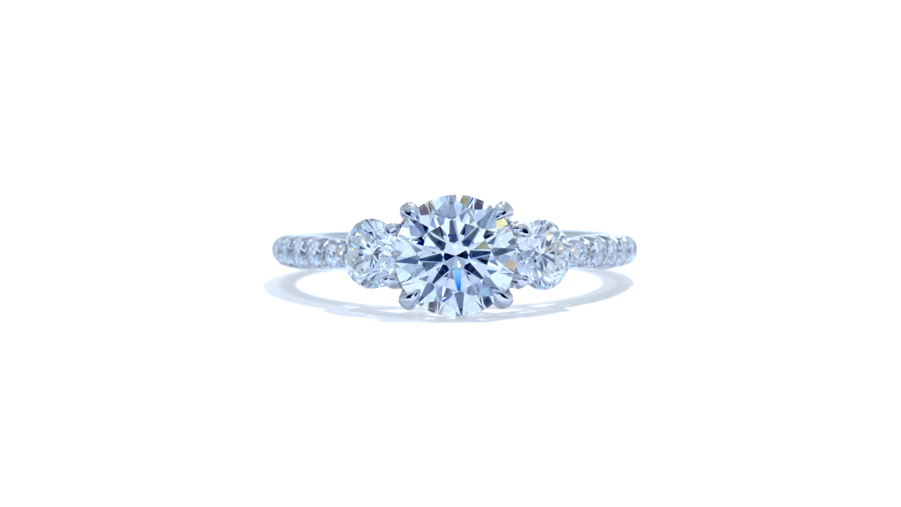 jb4937_lgd1519 - 1 ct. Lab Grown Diamond Engagement Ring at Ascot Diamonds