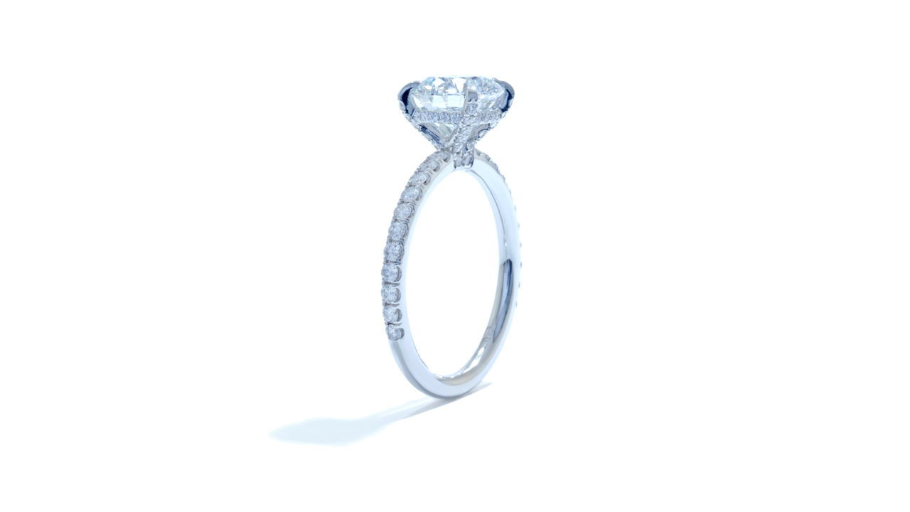 jb5084_lgd1451 - Fine Round Diamond Solitaire Ring at Ascot Diamonds