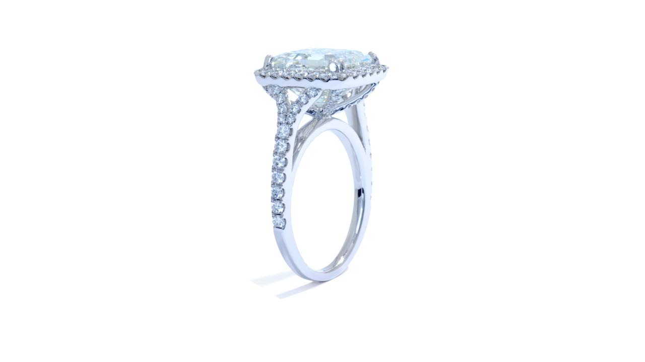 jb5097_d6944 - 6 ct Asscher Cut Diamond Ring | Halo Style at Ascot Diamonds