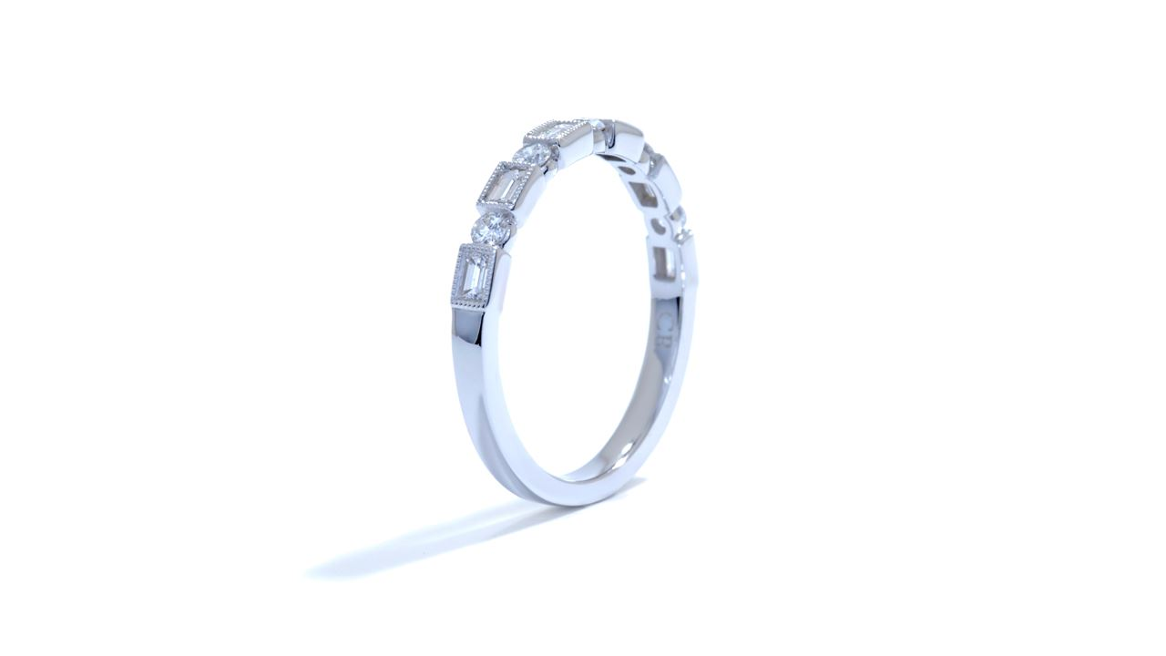 jb5145 - Elegant Artdeco Diamond Band at Ascot Diamonds