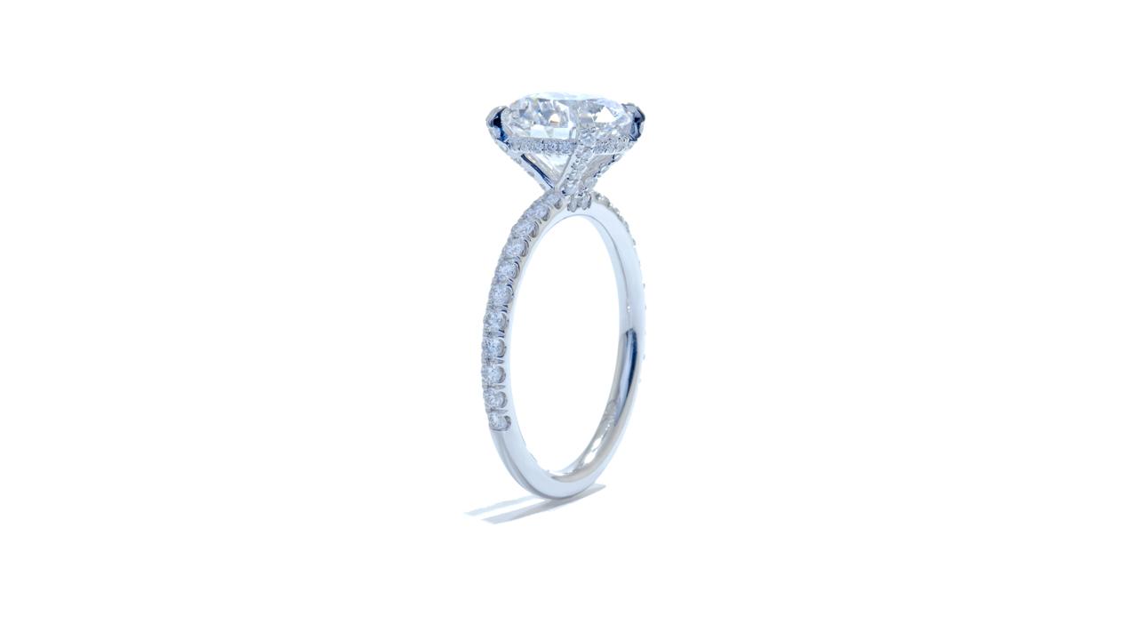 jb5159_lgd1441 - 2.50ct Lab Grown Round Diamond Engagement Ring at Ascot Diamonds