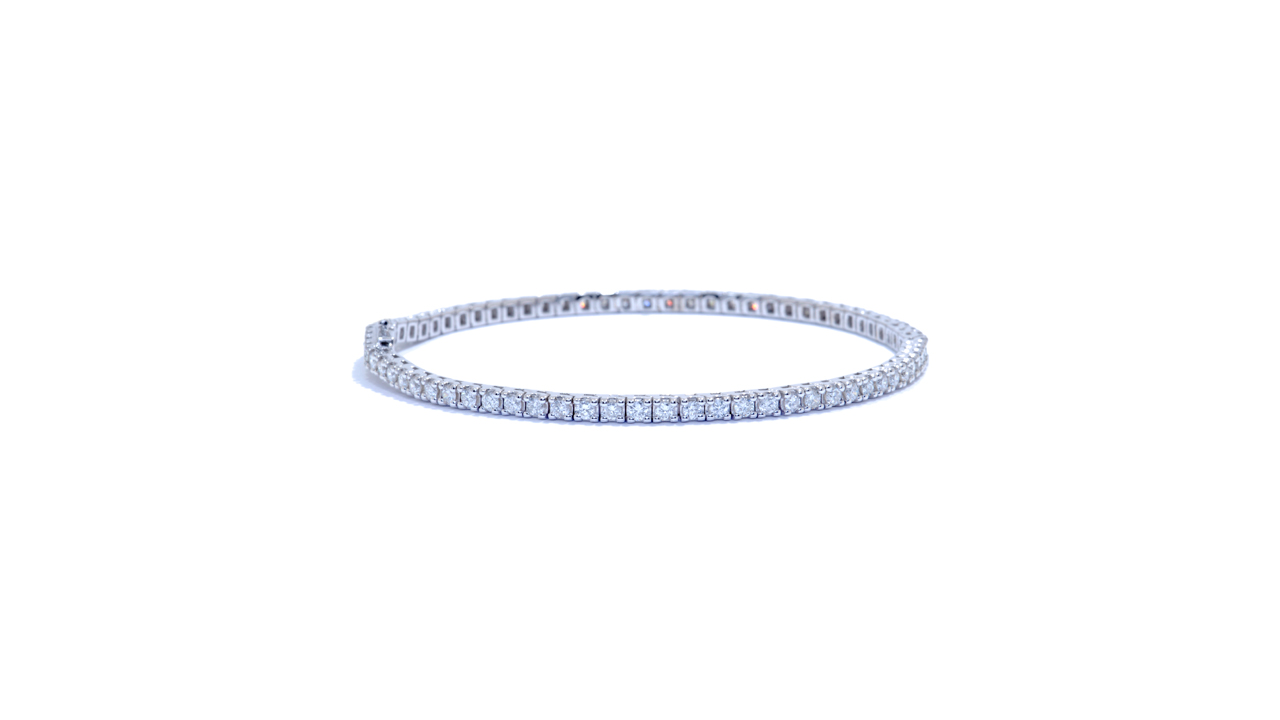 jb5188 - Classic Diamond Bracelet 3ct at Ascot Diamonds