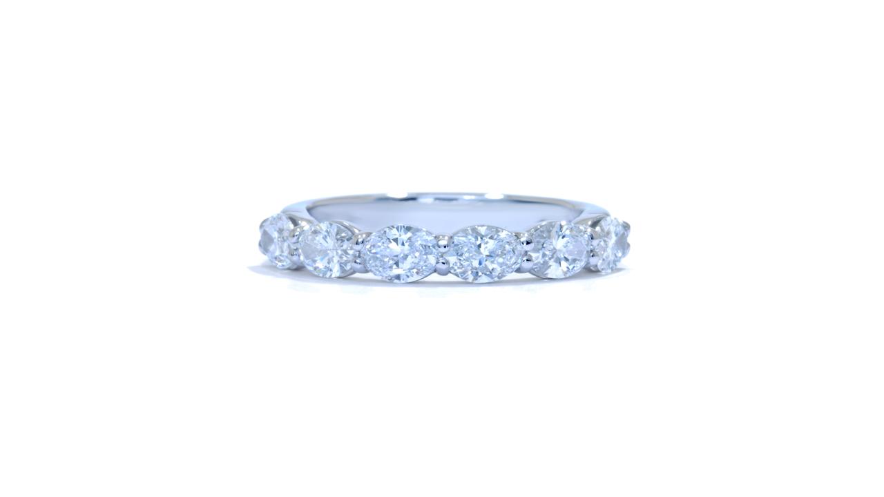 jb5190 - Oval Cut Diamond Band at Ascot Diamonds