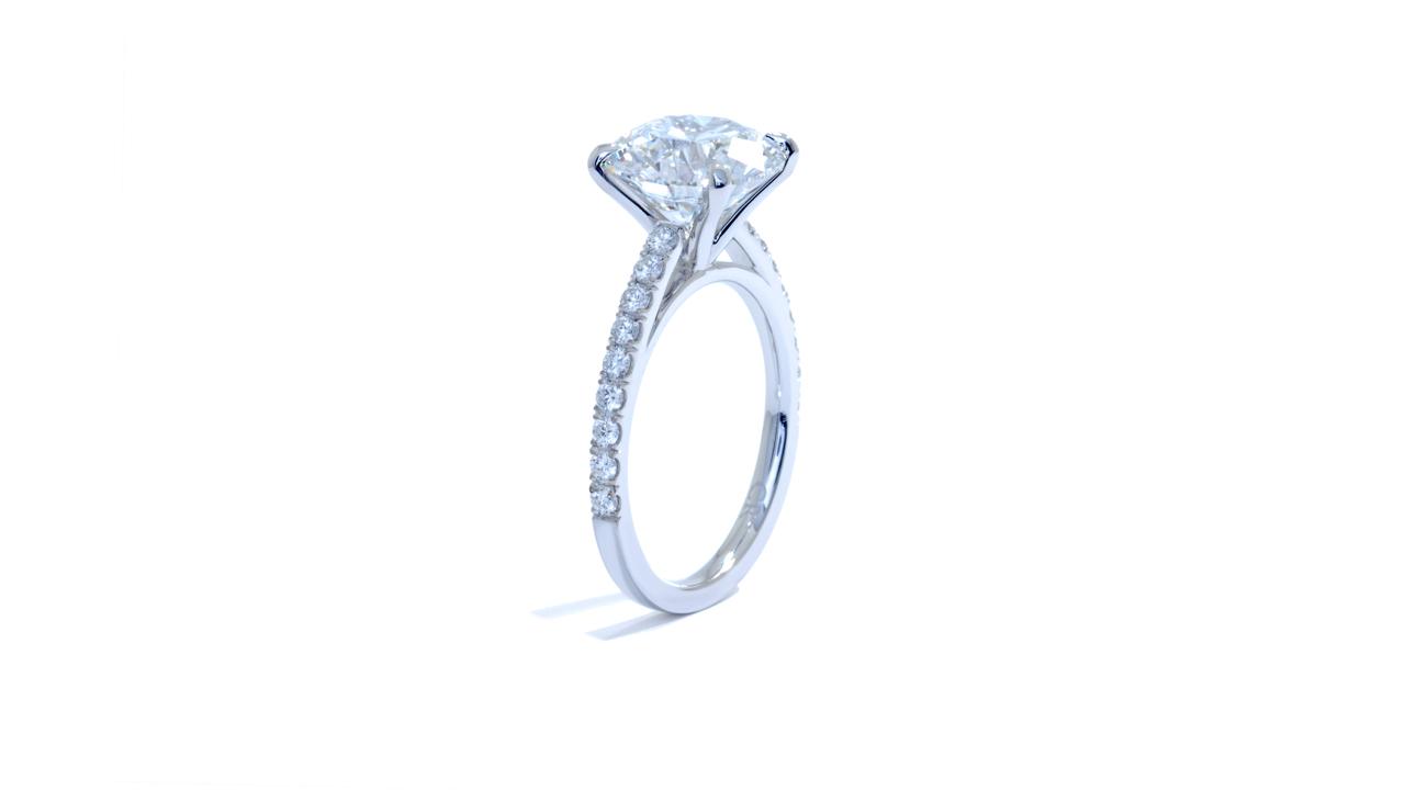 jb5204_lgd1245 - 3.75 ct. Round Diamond Engagement Ring at Ascot Diamonds