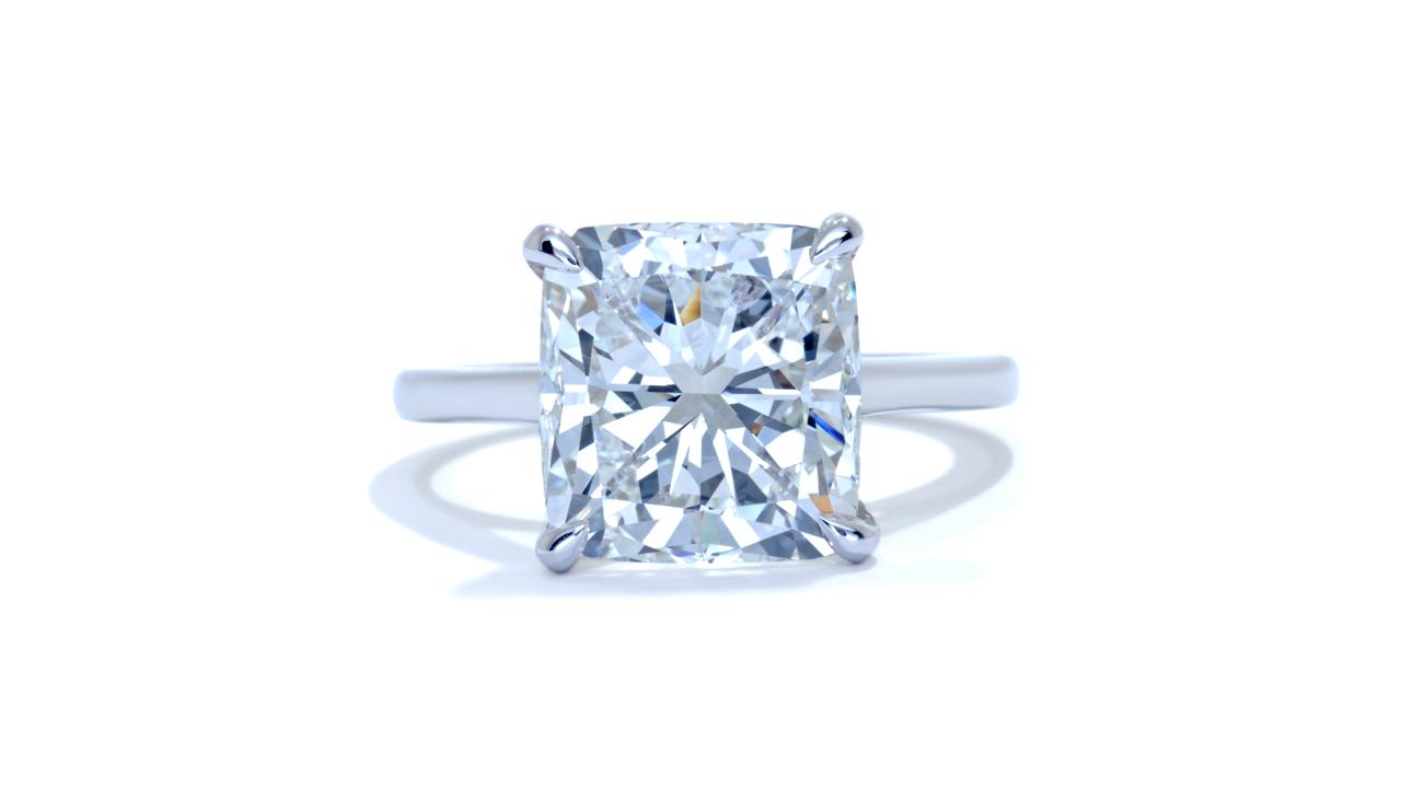 jb5227_d5036a - 5 ct Cushion Cut Engagement Ring at Ascot Diamonds