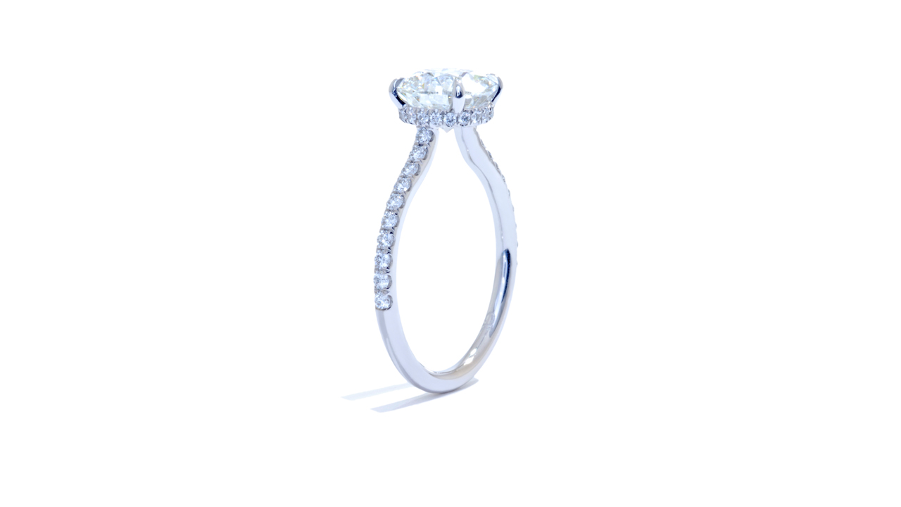jb5238_lgd1586 - 2 carat Lab Grown Diamond Ring at Ascot Diamonds