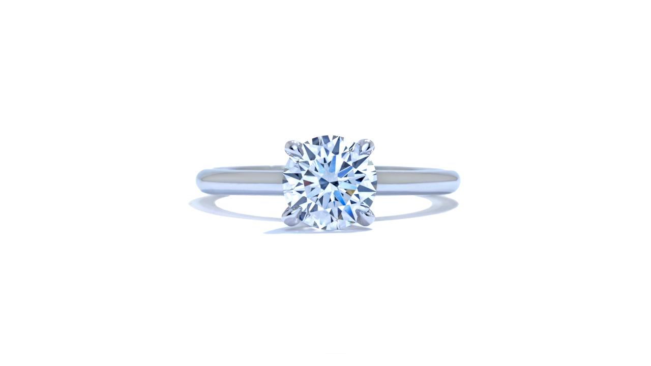 jb5371_lgd1527 - Round Cut Lab Grown Diamond Ring at Ascot Diamonds