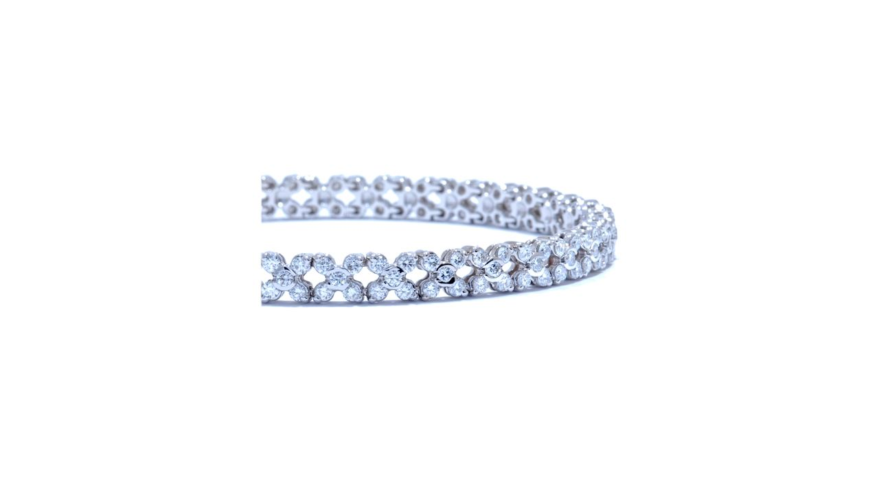 jb5432 - Florence Diamond Bracelet 2.90ct. tw. at Ascot Diamonds
