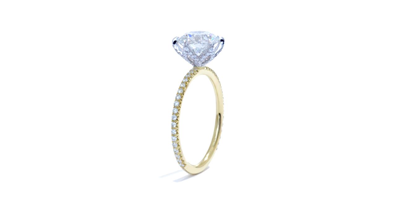 jb5481_lgd1502 - Lab Grown Round Diamond Ring at Ascot Diamonds