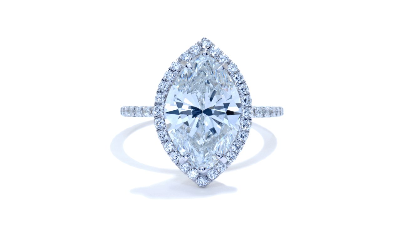 jb5550_d6798 - Marquise Halo Engagement Ring at Ascot Diamonds