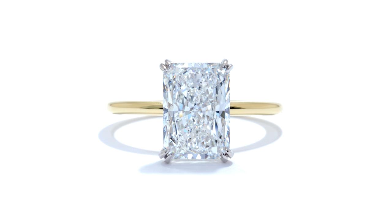 jb5571_d6693 - 3 carat Radiant Cut Engagement Ring at Ascot Diamonds