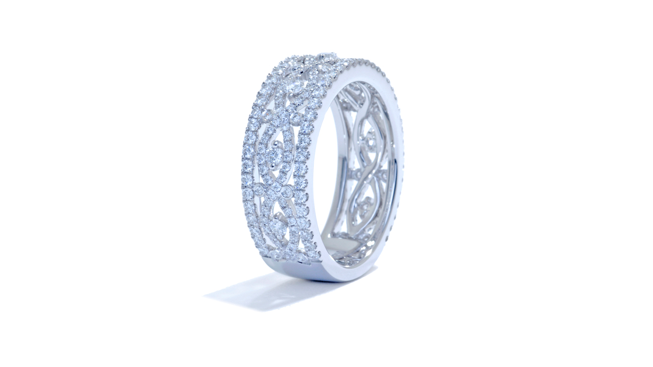 jb5652 - Anniversary Diamond Ring 0.93 ct at Ascot Diamonds