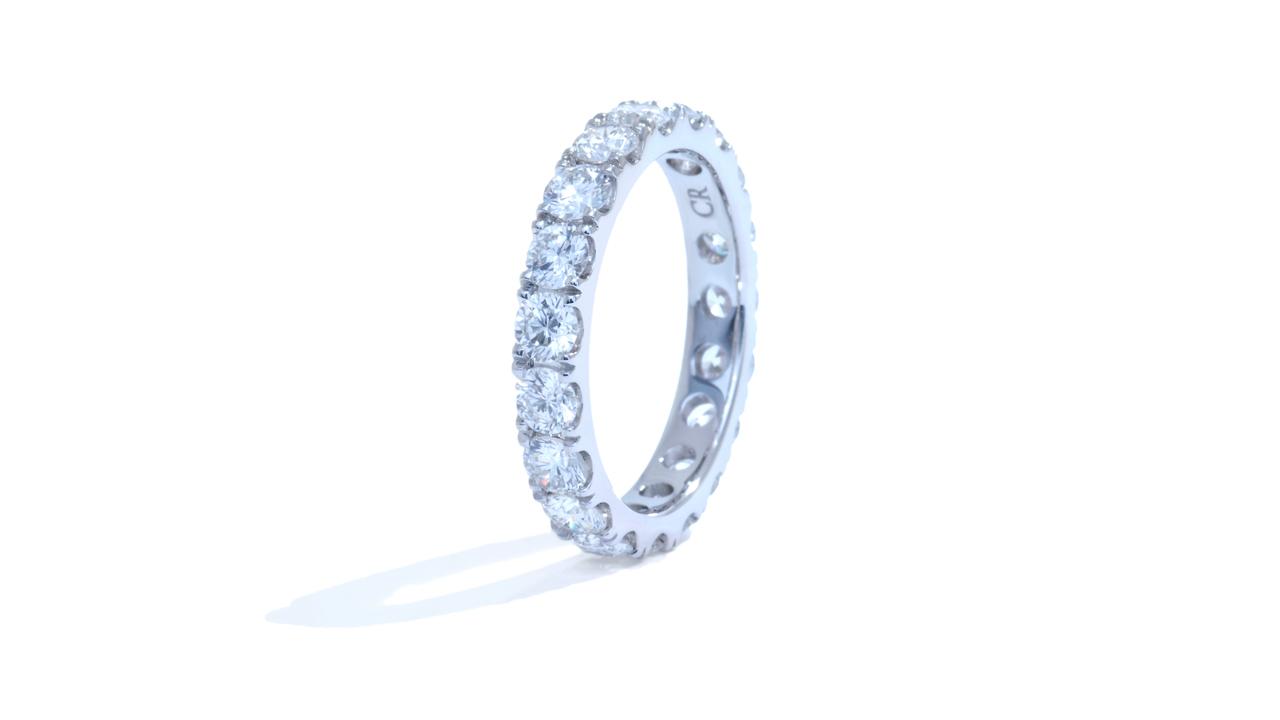 jb5986 - 2 carat Diamond Eternity Band at Ascot Diamonds