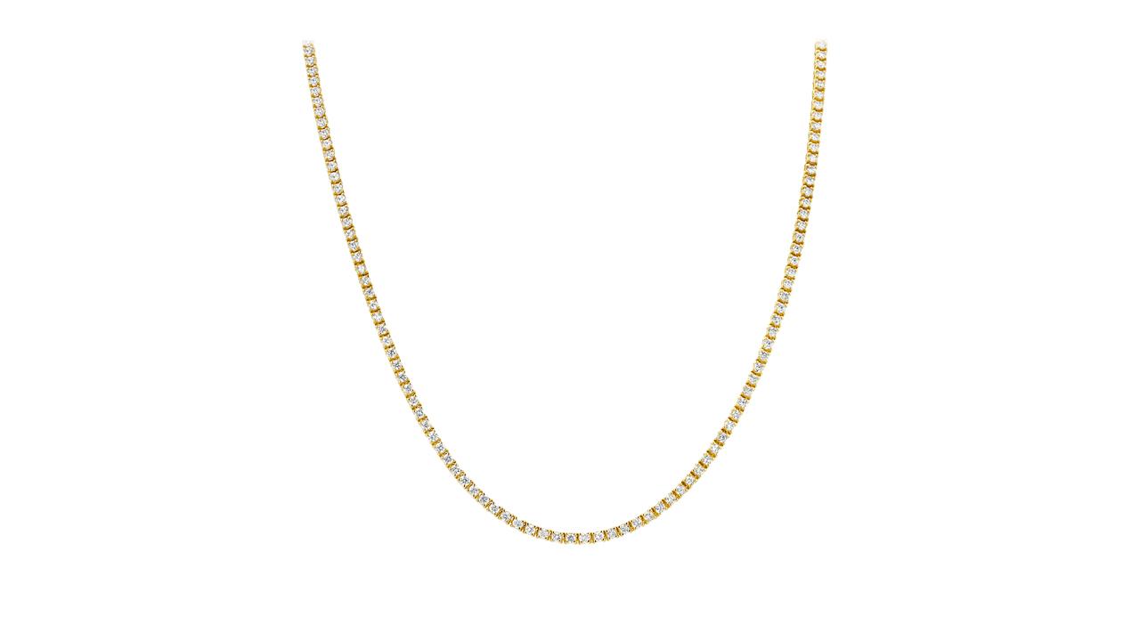 jb6185 - 10 carat Diamond Tennis Necklace at Ascot Diamonds