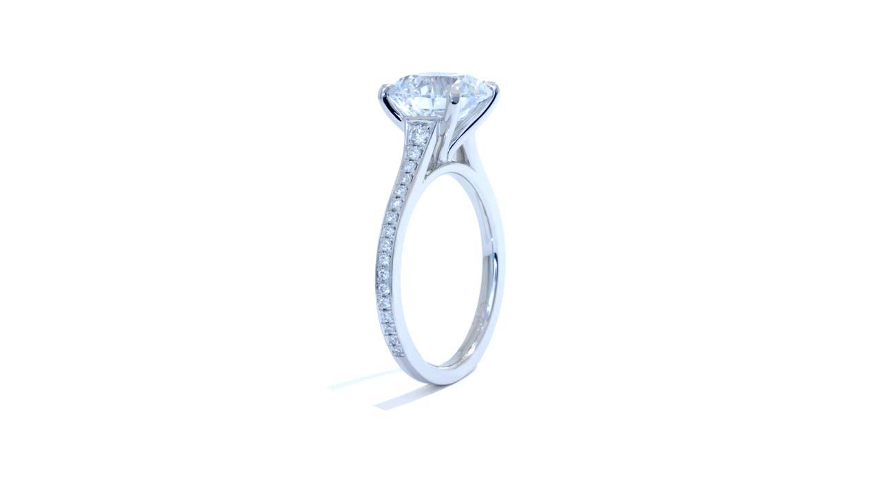 jb6444_lgd1684 - Lab Grown Diamond Engagement Ring at Ascot Diamonds
