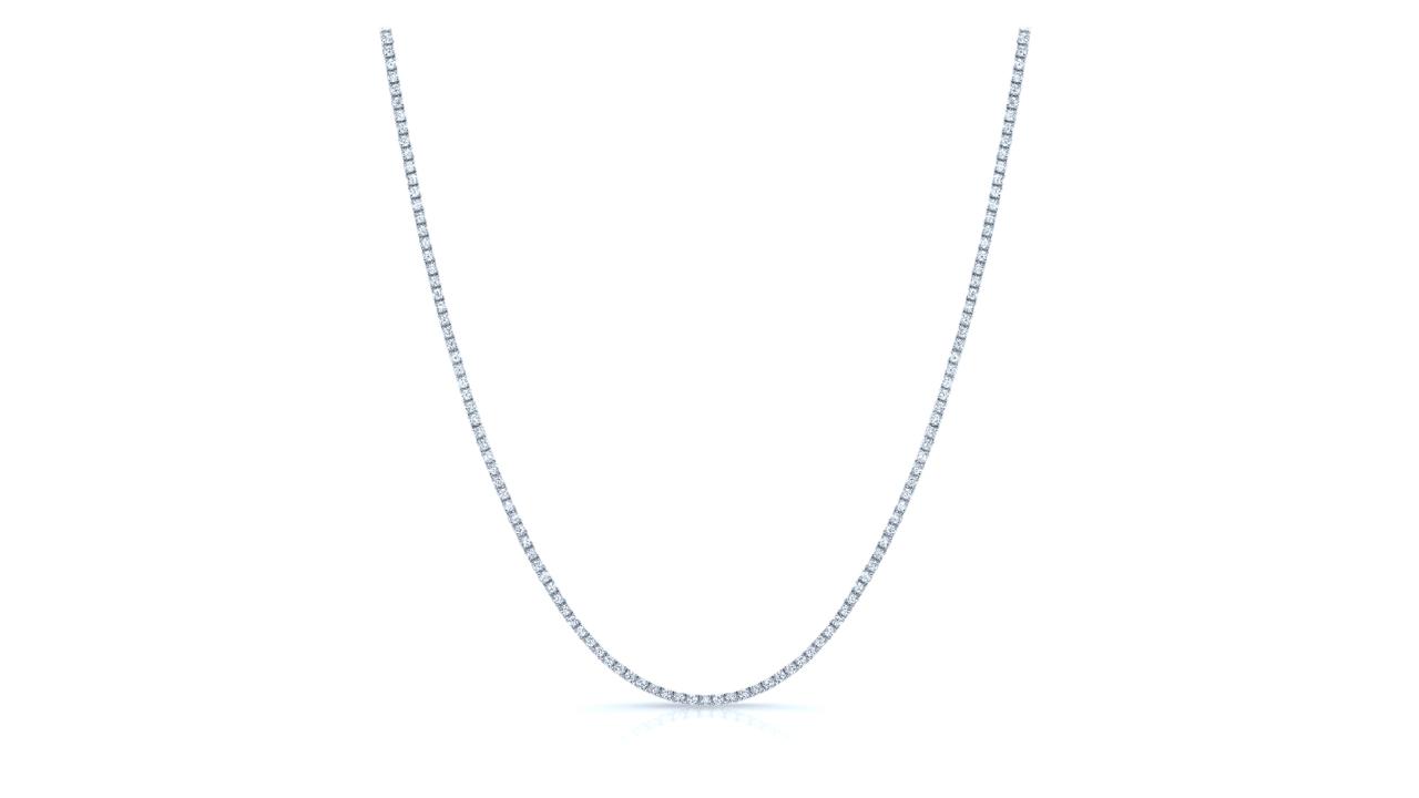 jb6453 - 4ct. tw. Diamond Tennis Necklace at Ascot Diamonds