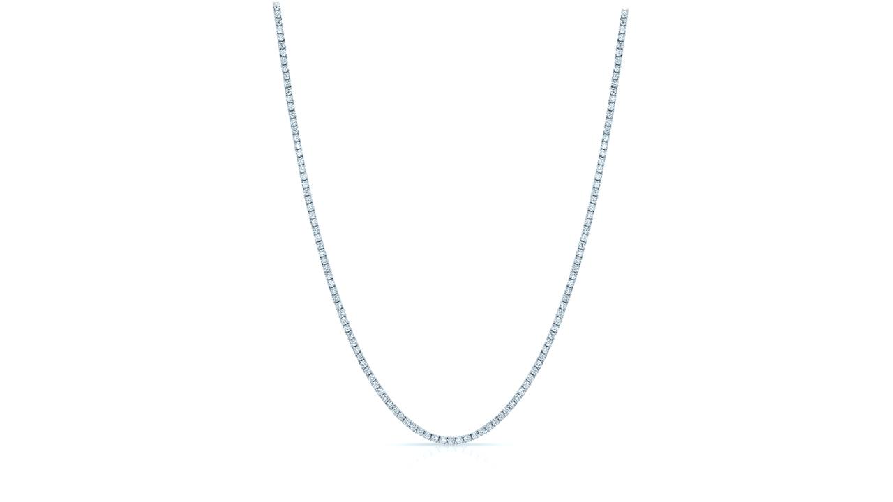 jb6503 - 8 carat Diamond Tennis Necklace   at Ascot Diamonds
