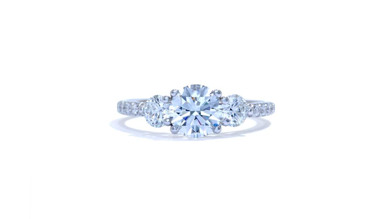 jb6690_lgd1544 - Three Stone Diamond Engagement Ring at Ascot Diamonds
