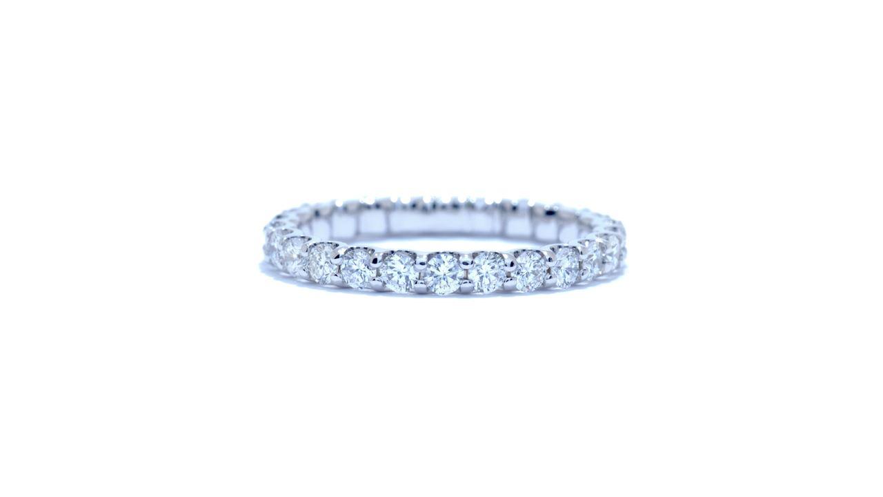 jb6835 - Custom Shared-Prong Diamond Band at Ascot Diamonds