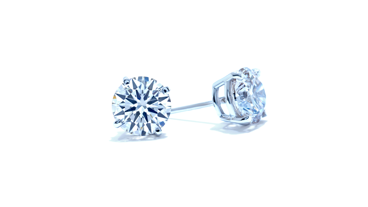 lgstud-150 - Lab Made Diamond Stud Earrings | 1.50 ct. at Ascot Diamonds