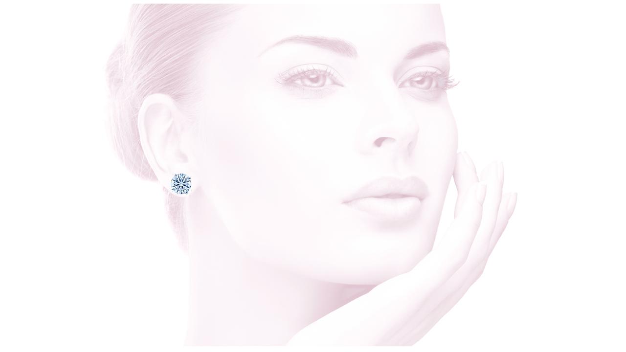 lgstud-600 - 6 ct. tw. Lab Grown Diamond Stud Earrings at Ascot Diamonds