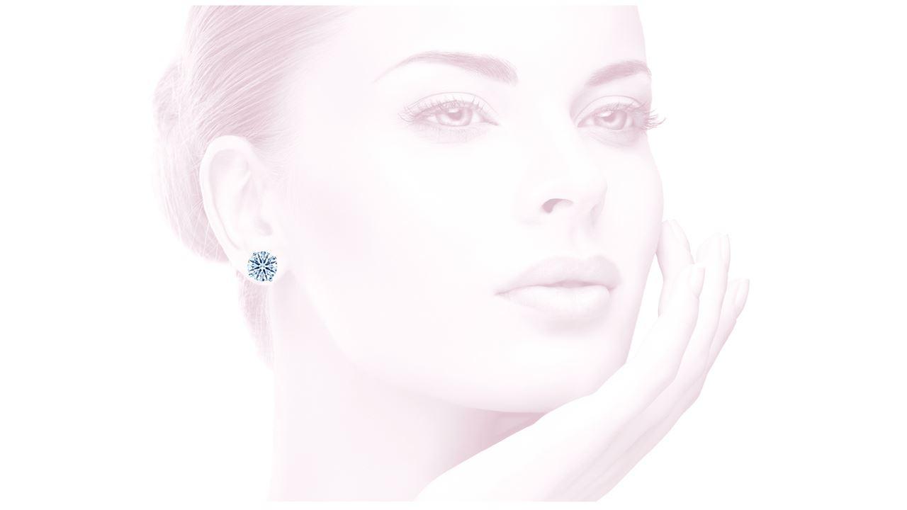 studs-600 - 6 ct. tw. Round Diamond Stud Earrings at Ascot Diamonds